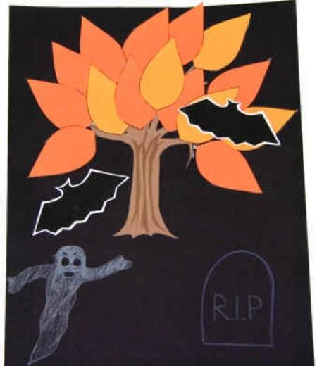 Halloween Craft Ideas Halloween Trees